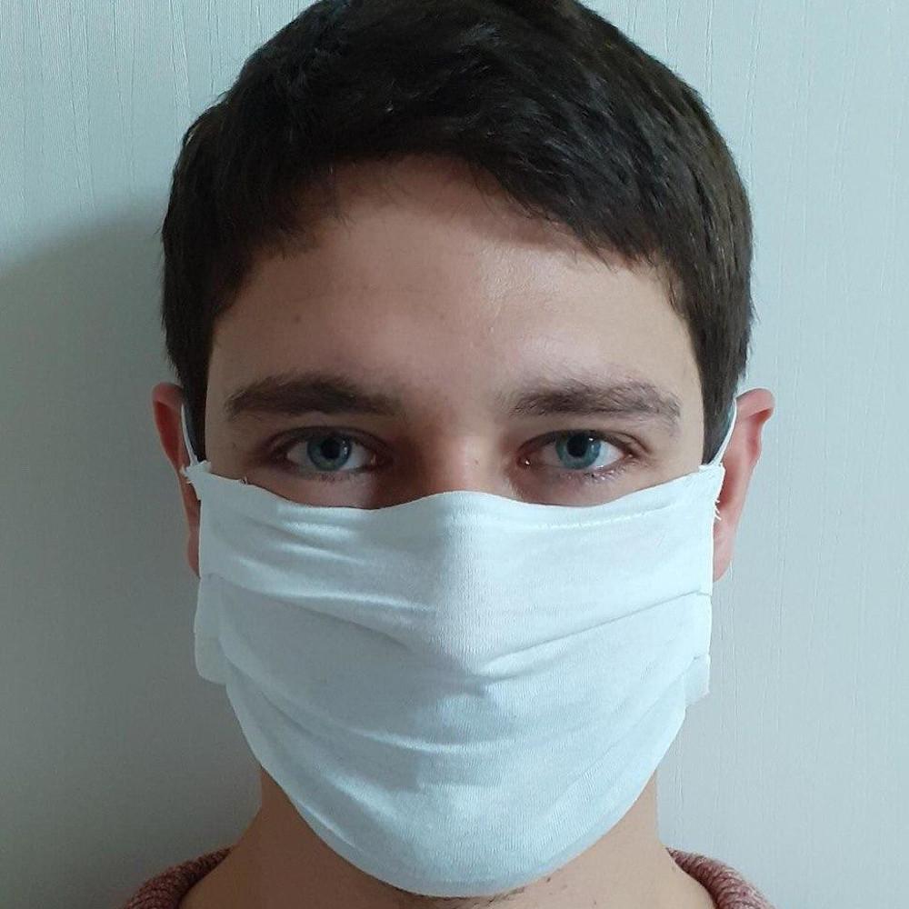 Größenverstellbare Mehrweg – Behelfs-Mund-Nasen-Maske